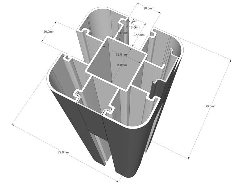 wpc sichtschutz wooden tec deutschland. Black Bedroom Furniture Sets. Home Design Ideas